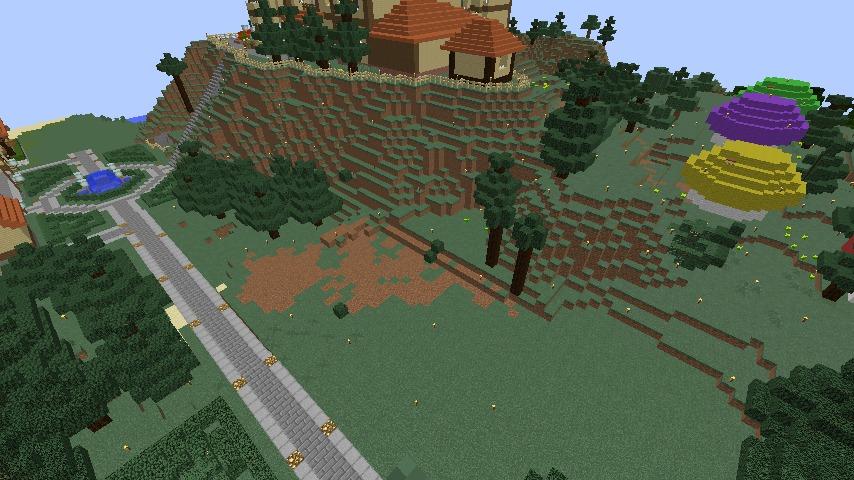 Minecrafterししゃもがマインクラフトでぷっこ村にグラバー園にある旧自由邸をぷっこ村仕様でアレンジ再現する1