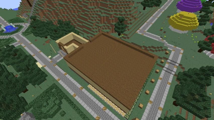 Minecrafterししゃもがマインクラフトでぷっこ村にグラバー園にある旧自由邸をぷっこ村仕様でアレンジ再現する3
