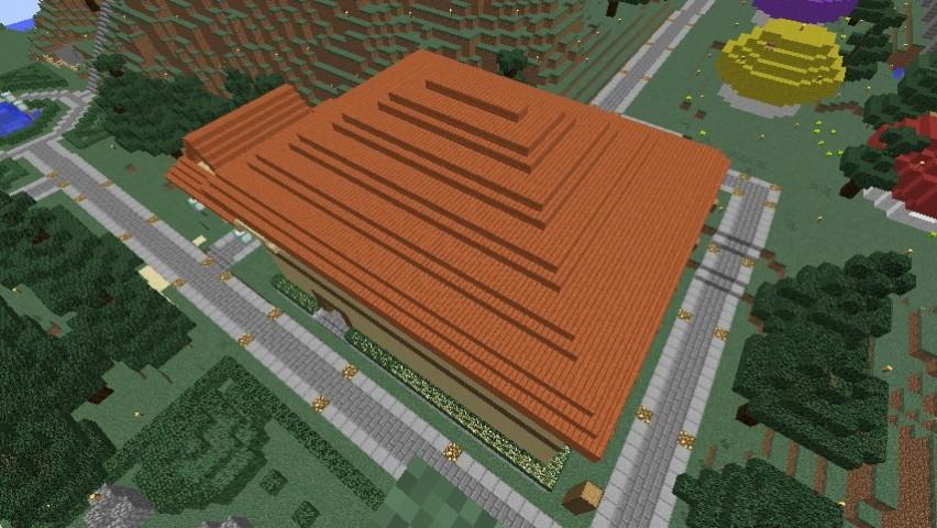 Minecrafterししゃもがマインクラフトでぷっこ村にグラバー園にある旧自由邸をぷっこ村仕様でアレンジ再現する6