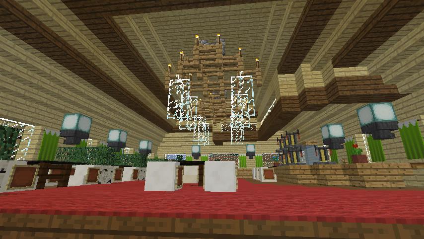Minecrafterししゃもがマインクラフトでぷっこ村にグラバー園にある旧自由邸をぷっこ村仕様でアレンジ再現する15