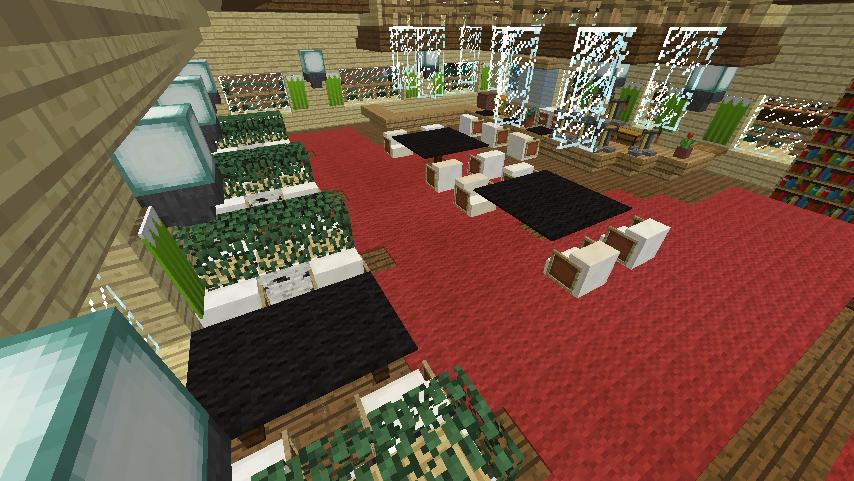 Minecrafterししゃもがマインクラフトでぷっこ村にグラバー園にある旧自由邸をぷっこ村仕様でアレンジ再現する16