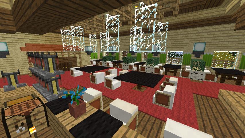 Minecrafterししゃもがマインクラフトでぷっこ村にグラバー園にある旧自由邸をぷっこ村仕様でアレンジ再現する19