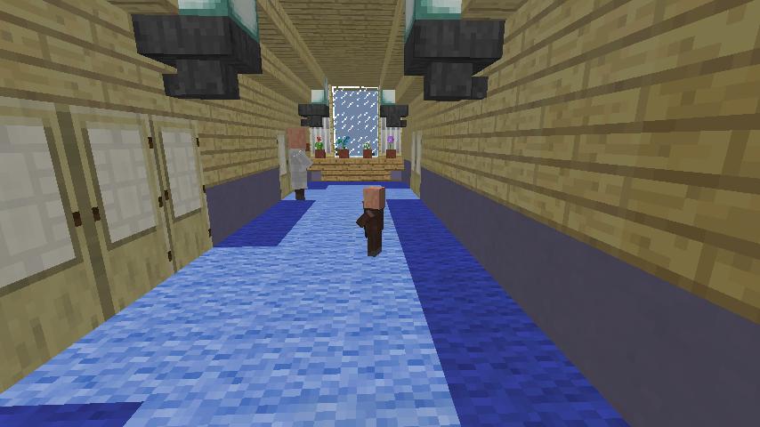 Minecrafterししゃもがマインクラフトでぷっこ村に旧半田医院をアレンジ再現し茶番を演じる12