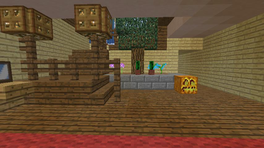 Minecrafterししゃもがマインクラフトでぷっこ村の小高い丘に洋館を建てる9