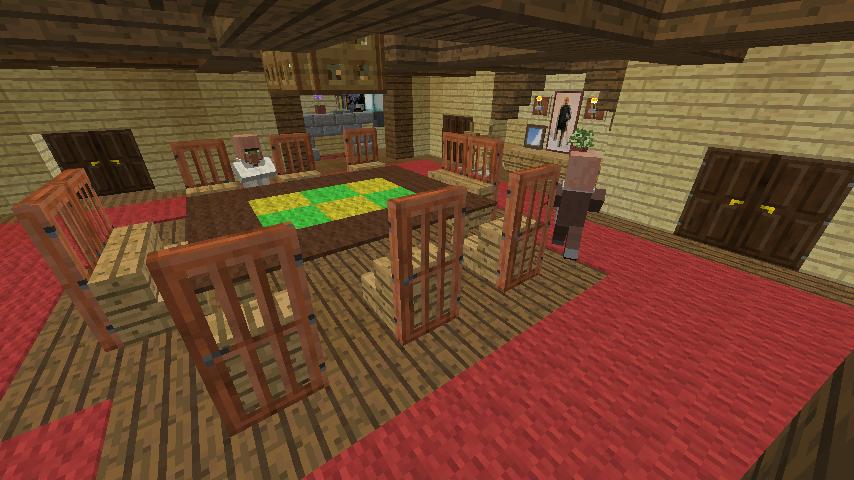 Minecrafterししゃもがマインクラフトでぷっこ村の小高い丘に洋館を建てる11