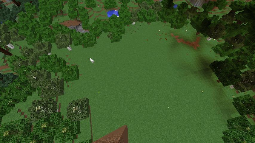 Minecrafterししゃもがマインクラフトでぷっこ村に青森銀行記念館をモデルにしたドングリーバンクを建設する2