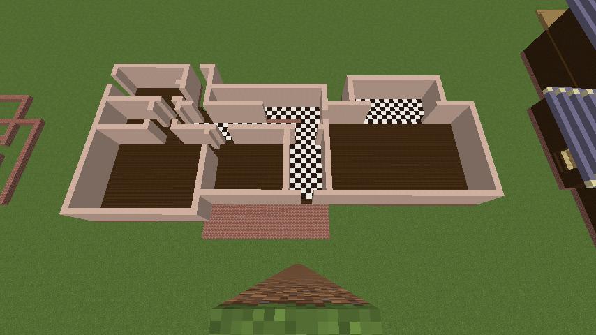 Minecrafterししゃもがマインクラフトでぷっこ村に結婚式ができるホールを作る1
