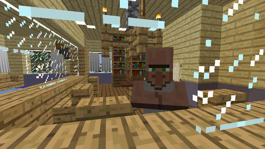 Minecrafterししゃもがマインクラフトでぷっこ村に旧半田医院をアレンジ再現し茶番を演じる3