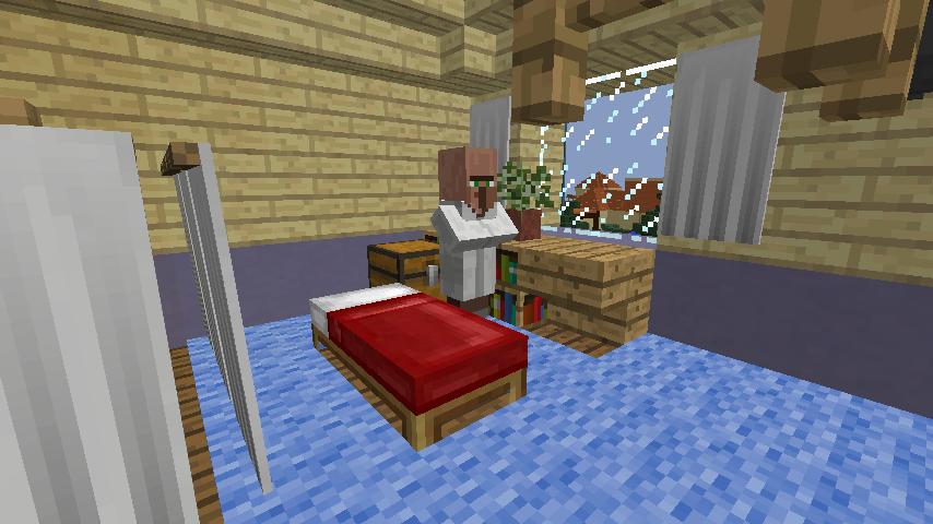 Minecrafterししゃもがマインクラフトでぷっこ村に旧半田医院をアレンジ再現し茶番を演じる11