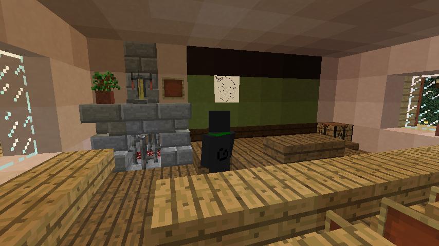 Minecrafterししゃもがマインクラフトでぷっっこ村に地図でポスターを作成して、茶番を演じる6