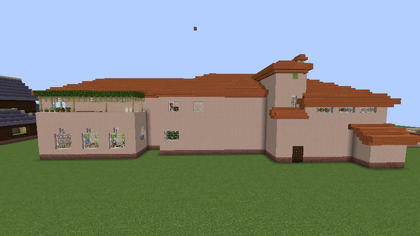 Minecrafterししゃもがマインクラフトでぷっこ村に結婚式ができるホールを作る7