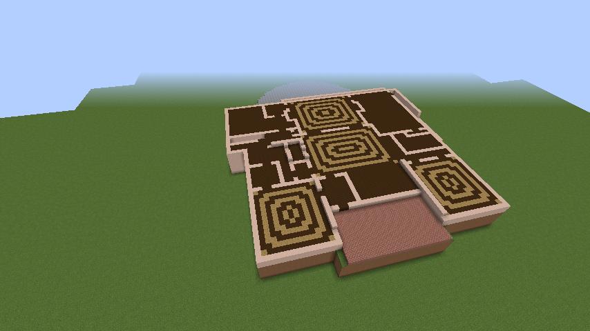 Minecrafterししゃもがマインクラフトでぷっこ村に山手111番館を再現する4