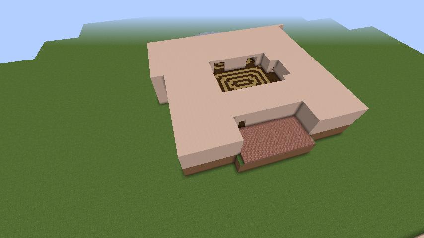 Minecrafterししゃもがマインクラフトでぷっこ村に山手111番館を再現する5