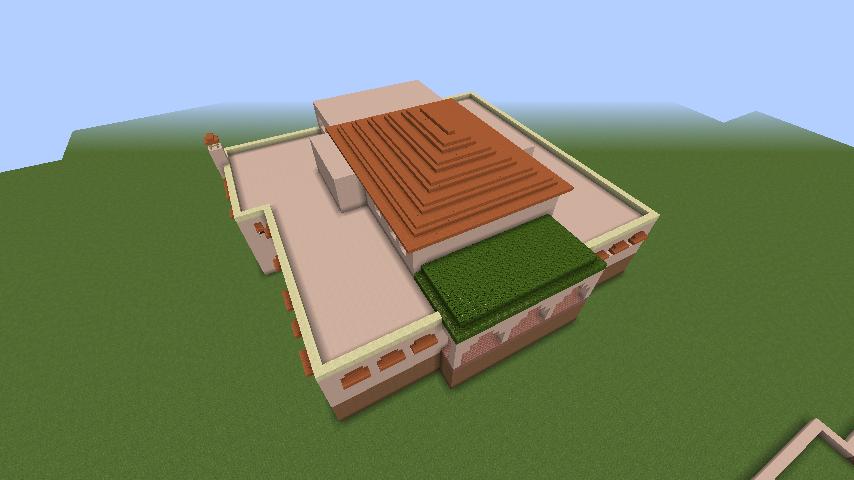 Minecrafterししゃもがマインクラフトでぷっこ村に山手111番館を再現する7