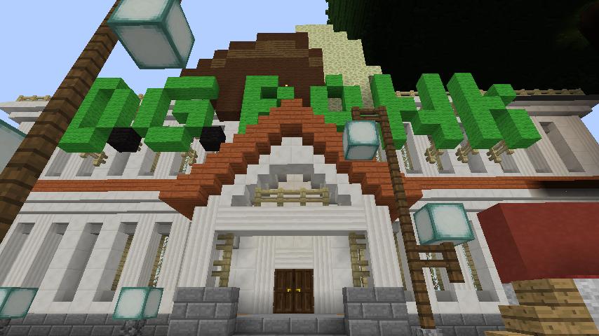 Minecrafterししゃもですがマインクラフトでぷっこ村に青森銀行記念館をモデルにしたドングリーバンクを建設する5