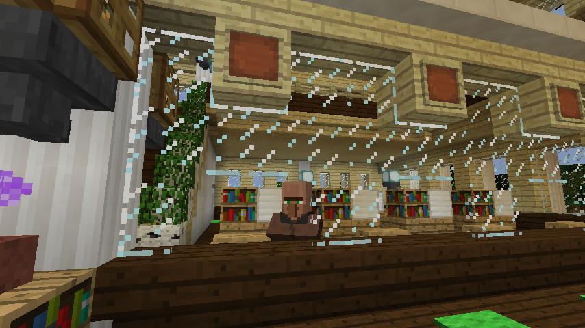 Minecrafterししゃもですがマインクラフトでぷっこ村に青森銀行記念館をモデルにしたドングリーバンクを建設する7