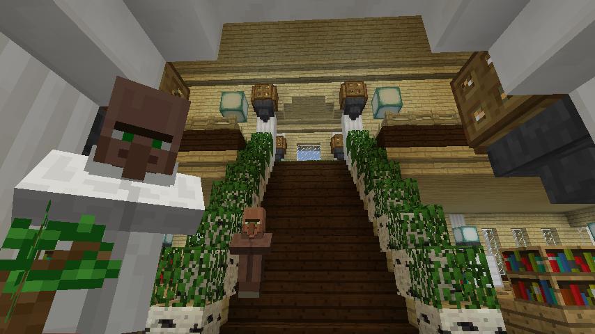 Minecrafterししゃもですがマインクラフトでぷっこ村に青森銀行記念館をモデルにしたドングリーバンクを建設する10