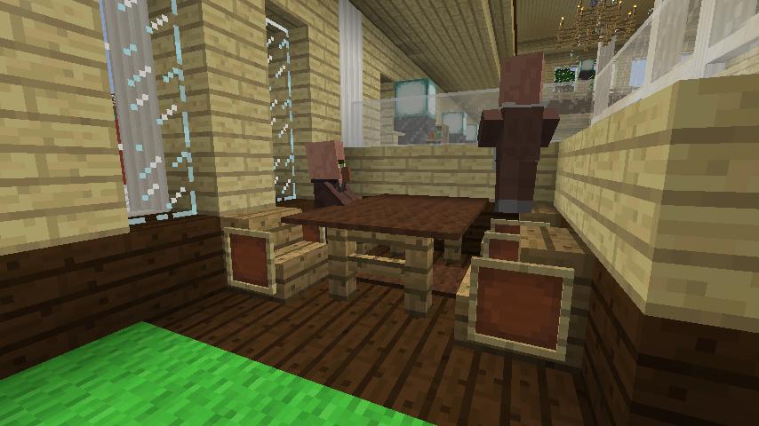 Minecrafterししゃもですがマインクラフトでぷっこ村に青森銀行記念館をモデルにしたドングリーバンクを建設する9