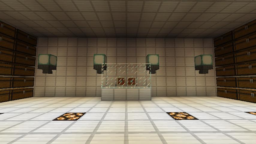 Minecrafterししゃもですがマインクラフトでぷっこ村に青森銀行記念館をモデルにしたドングリーバンクを建設する16