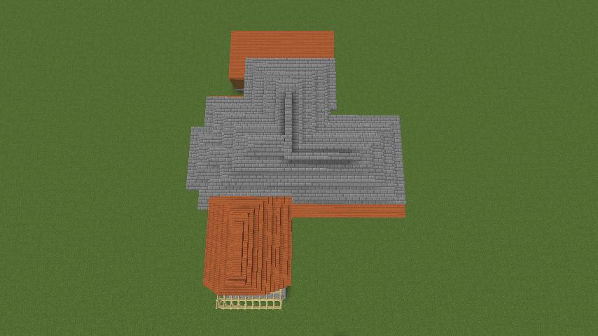 Minecrafterししゃもがマインクラフトでぷっこ村にサツキとメイの家を再現する5