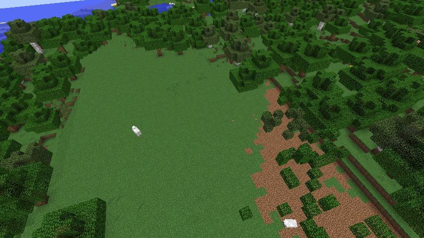 Minecrafterししゃもがマインクラフトでぷっこ村にサツキとメイの家を再現する9
