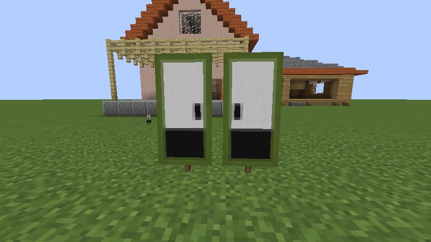 Minecrafterししゃもがマインクラフトでぷっこ村にサツキとメイの家を再現する6