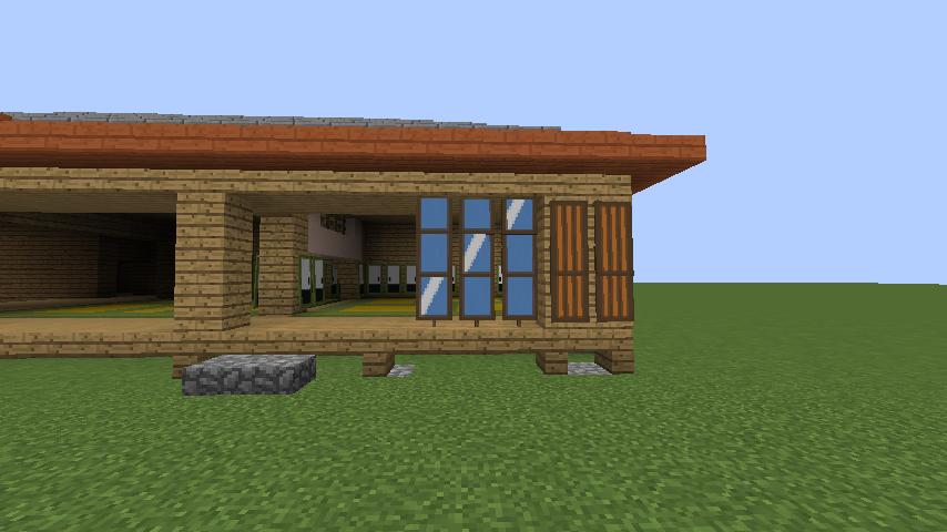Minecrafterししゃもがマインクラフトでぷっこ村にサツキとメイの家を再現する8