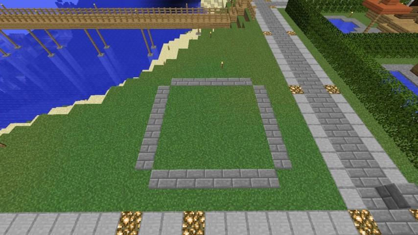 Minecrafterししゃもがマインクラフトでぷっこ村に水でできたかっこいい家を建設して茶番を演じながら作成方法を紹介する4