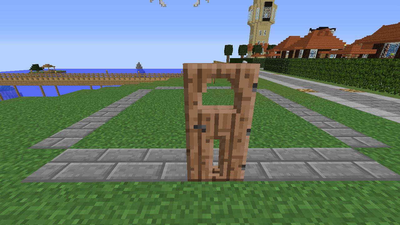 Minecrafterししゃもがマインクラフトでぷっこ村に水でできたかっこいい家を建設して茶番を演じながら作成方法を紹介する5