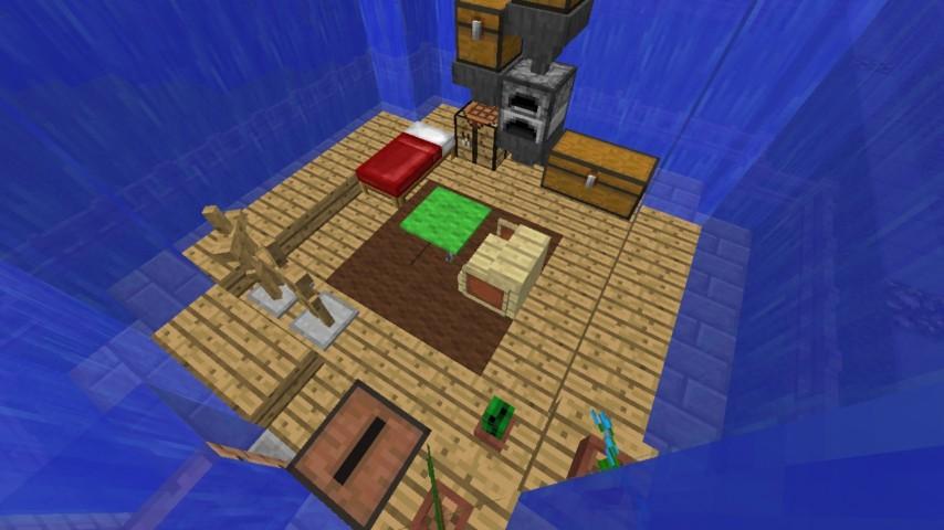 Minecrafterししゃもがマインクラフトでぷっこ村に水でできたかっこいい家を建設して茶番を演じながら作成方法を紹介する29