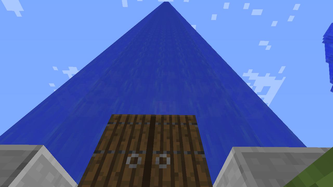 Minecrafterししゃもがマインクラフトでぷっこ村に水でできたかっこいい家を建設して茶番を演じながら作成方法を紹介する2