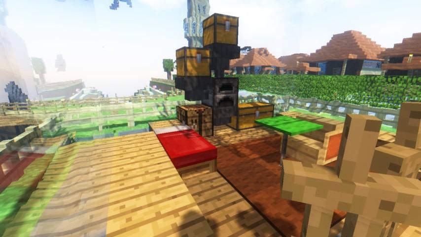 Minecrafterししゃもがマインクラフトでぷっこ村に水でできたかっこいい家を建設して茶番を演じながら作成方法を紹介する31