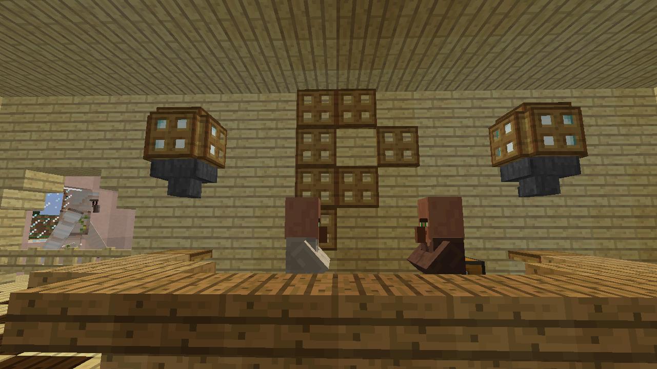 Minecrafterししゃもがマンクラフトでぷっこ村に放送局を建設して紹介する4
