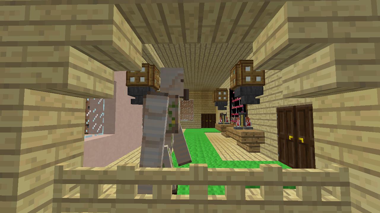 Minecrafterししゃもがマンクラフトでぷっこ村に放送局を建設して紹介する5