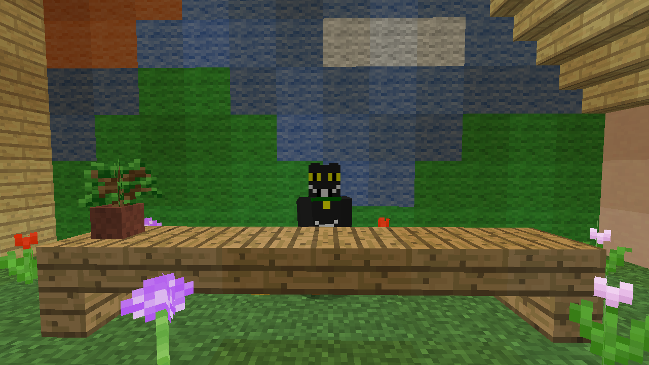Minecrafterししゃもがマンクラフトでぷっこ村に放送局を建設して紹介する7