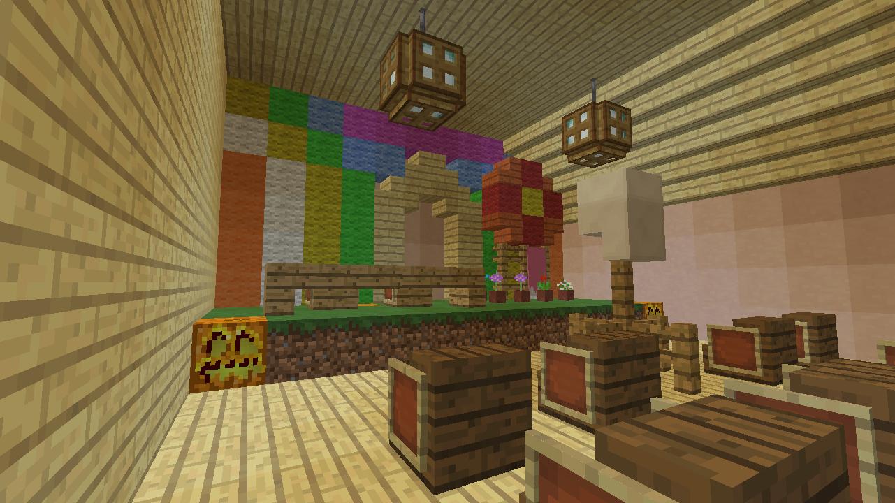 Minecrafterししゃもがマンクラフトでぷっこ村に放送局を建設して紹介する8