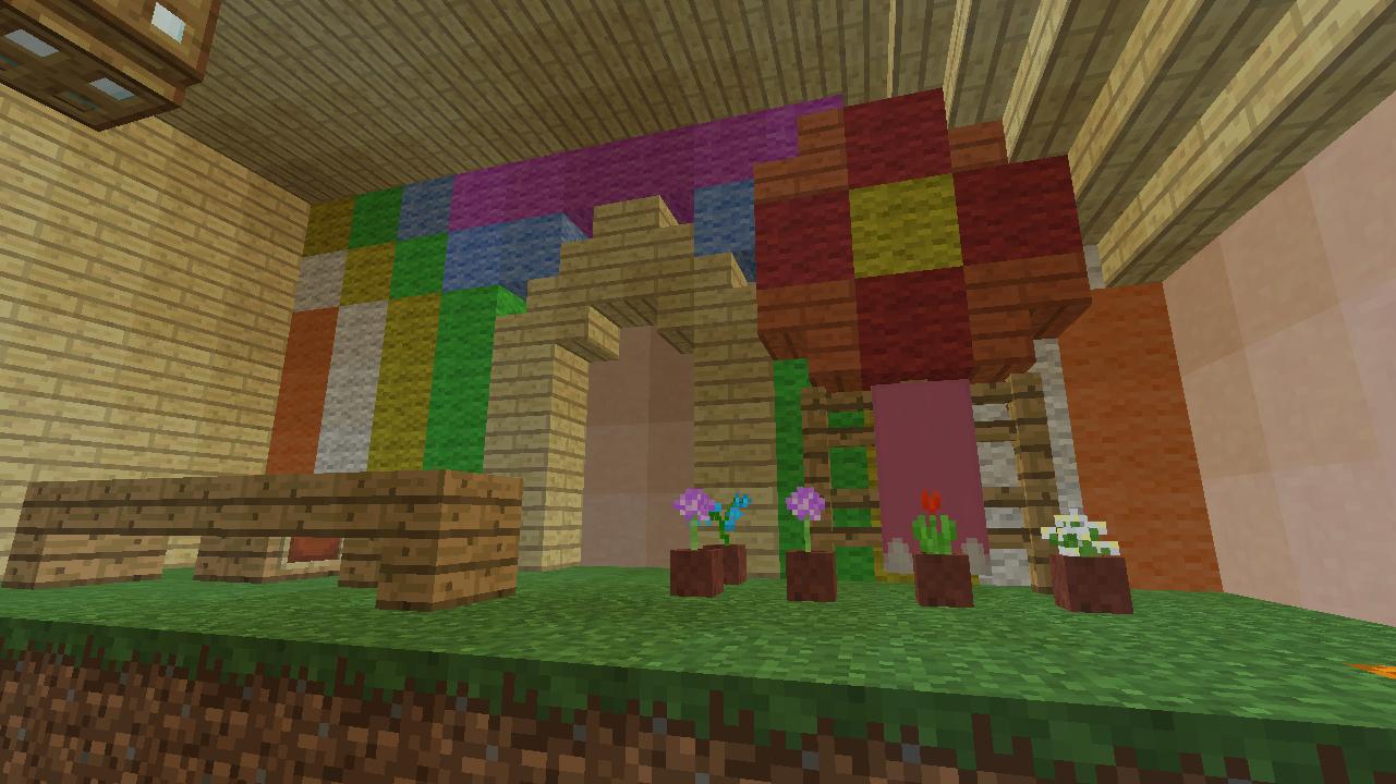 Minecrafterししゃもがマンクラフトでぷっこ村に放送局を建設して紹介する9