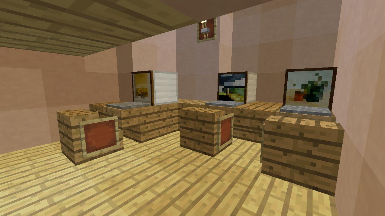 Minecrafterししゃもがマンクラフトでぷっこ村に放送局を建設して紹介する13