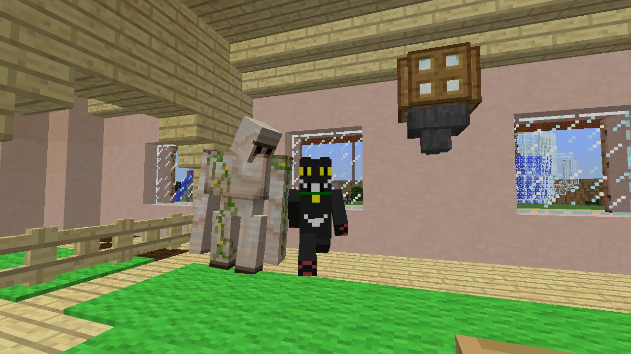 Minecrafterししゃもがマンクラフトでぷっこ村に放送局を建設して紹介する14