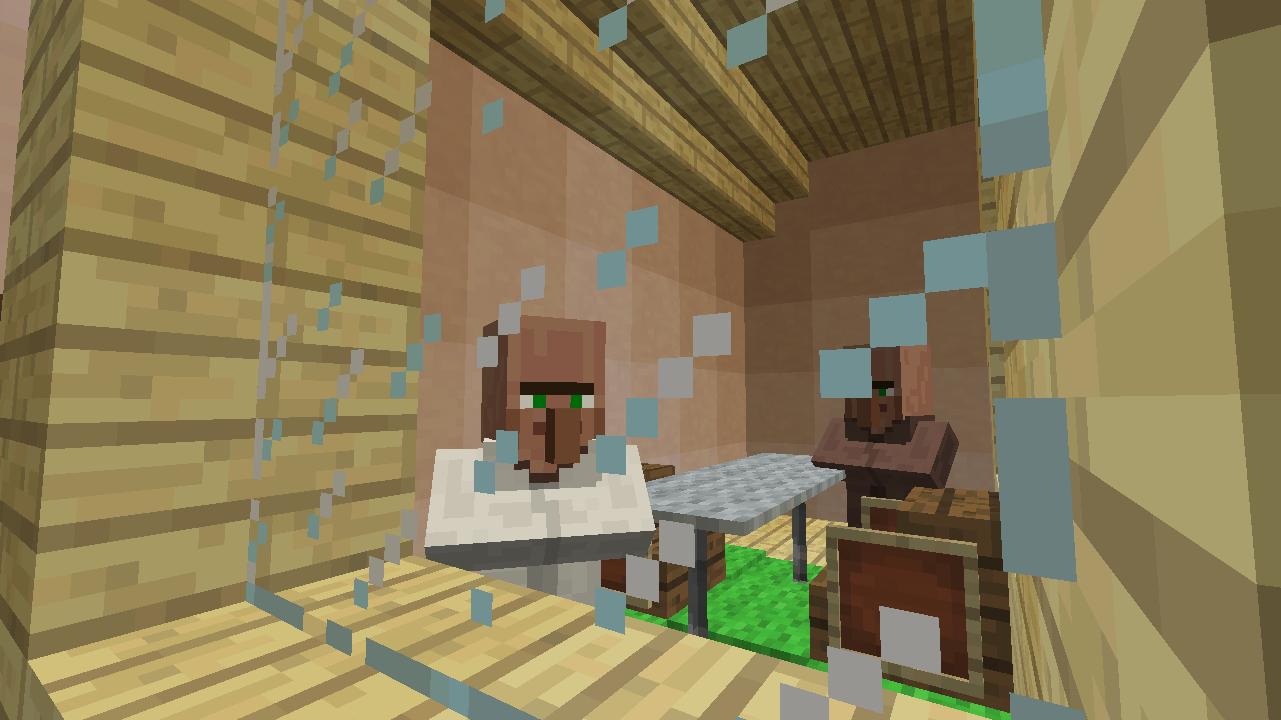 Minecrafterししゃもがマンクラフトでぷっこ村に放送局を建設して紹介する11