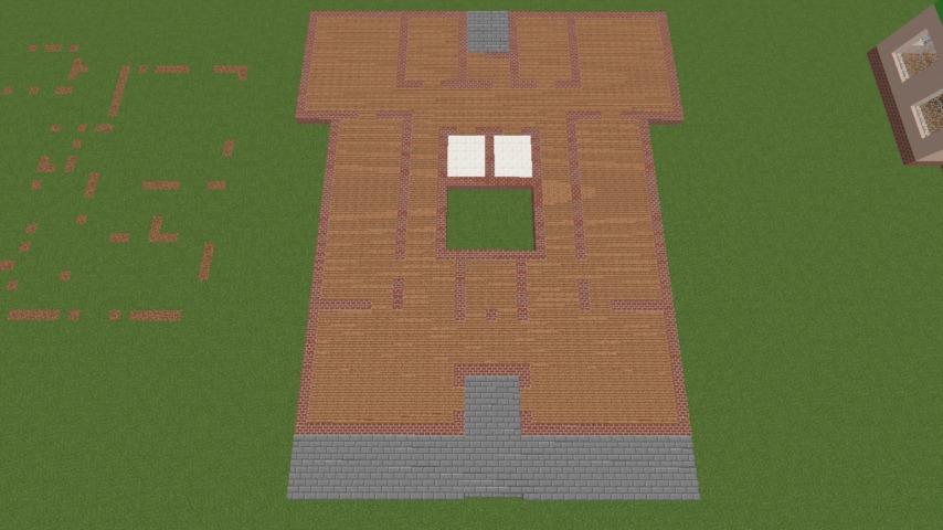 Minecrafterししゃもがマインクラフトでぷっこ村に山手234番館を再現してアパートとして貸し出す1