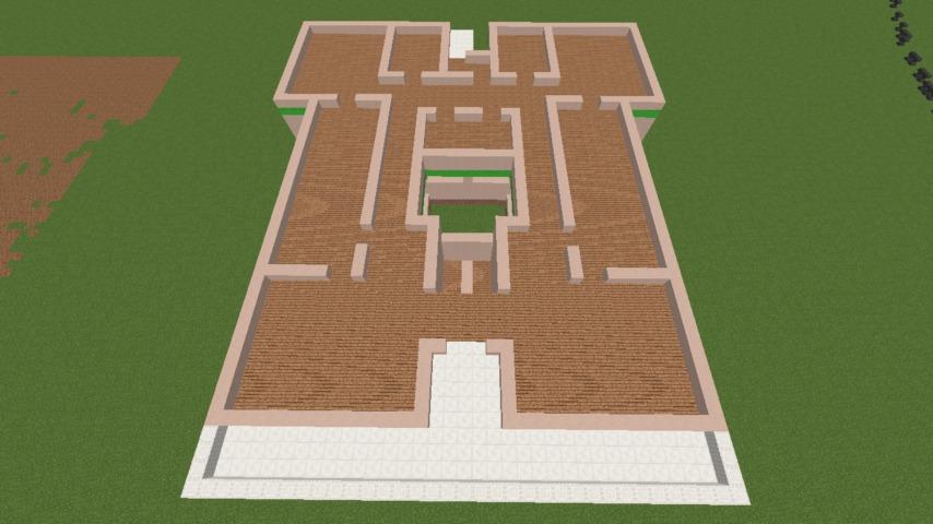 Minecrafterししゃもがマインクラフトでぷっこ村に山手234番館を再現してアパートとして貸し出す2