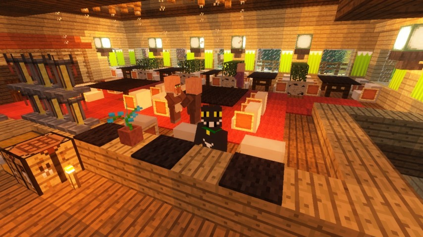 Minecrafterししゃもがマインクラフトでぷっこ村にグラバー園にある旧自由邸をぷっこ村仕様でアレンジ再現する21