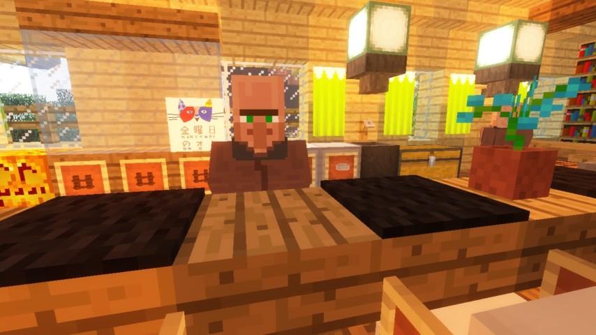 Minecrafterししゃもがマインクラフトでぷっこ村にグラバー園にある旧自由邸をぷっこ村仕様でアレンジ再現する20