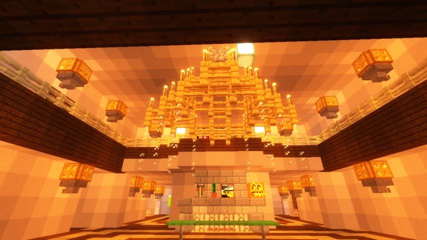 Minecrafterししゃもがマインクラフトでぷっこ村に山手111番館を再現する15