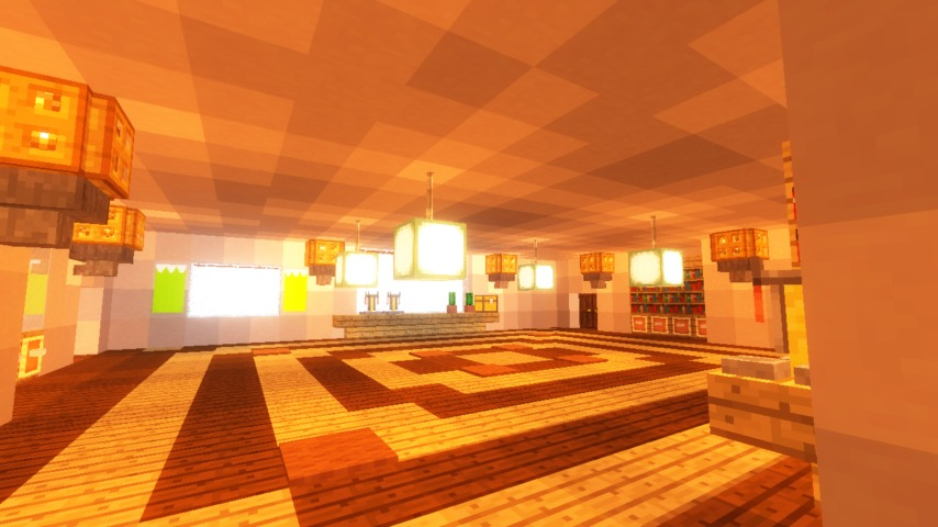 Minecrafterししゃもがマインクラフトでぷっこ村に山手111番館を再現する16