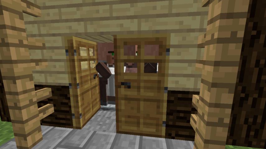 Minecrafterししゃもがマインクラフトでぷっこ村に山手111番館を再現する17