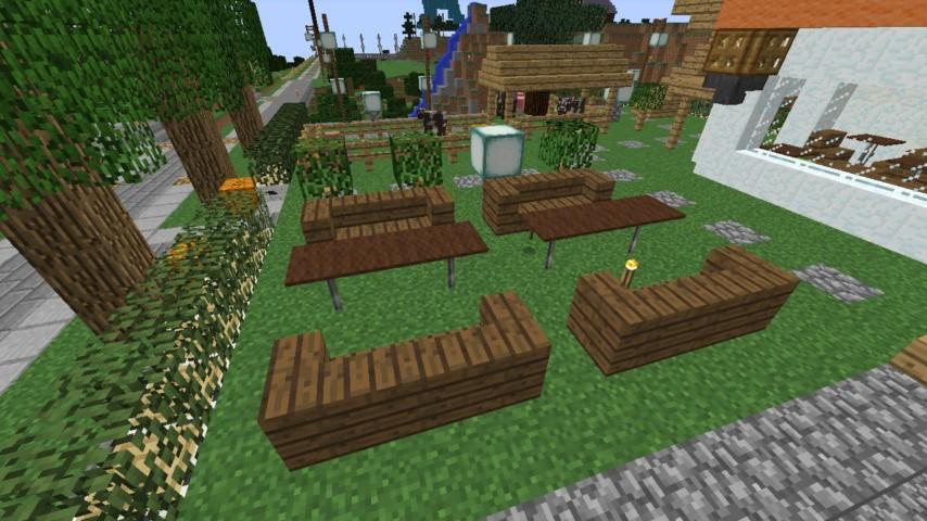 Minecrafterししゃもがマインクラフトでずっと前に作った公園をぷっこ村に移築して大改造劇的ビフォーアフター13