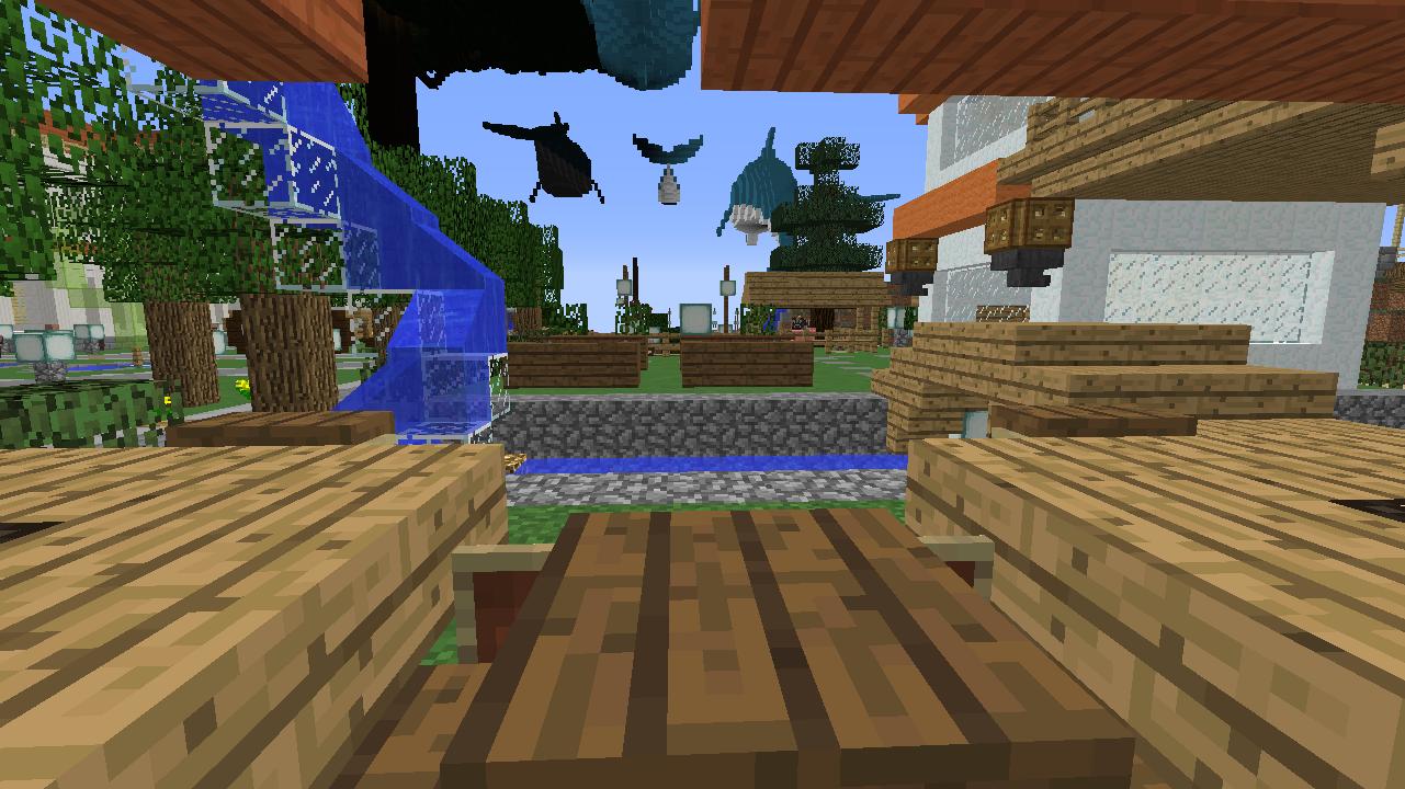 Minecrafterししゃもがマインクラフトでずっと前に作った公園をぷっこ村に移築して大改造劇的ビフォーアフター16