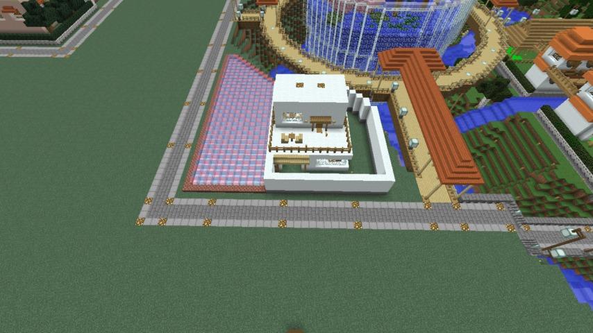 Minecrafterししゃもがマインクラフトで懐かしいお菓子屋をリメイクしてみる5